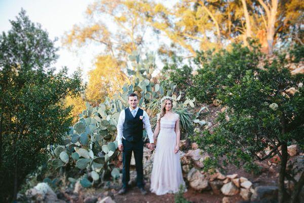 Backyard South African Wedding
