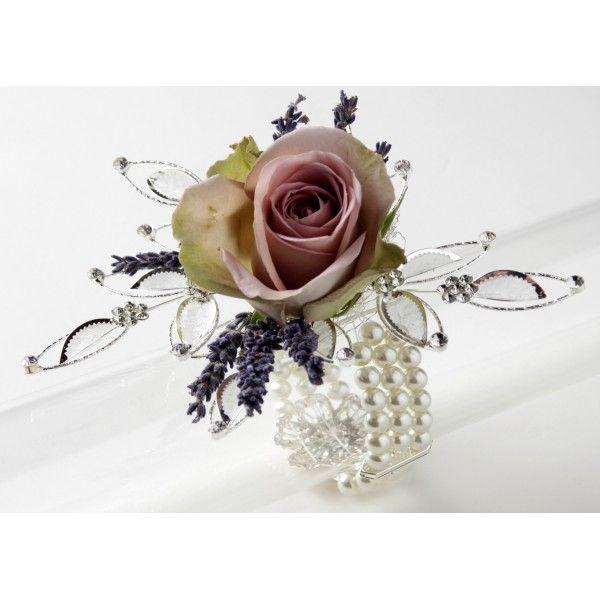 Vintage Beauty Corsage Bracelet Cream Wedding Ideas Pinterest Wrist And