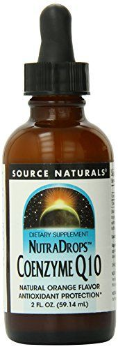 Source Naturals Coenzyme Q10 Nutradrops 30mg, 2 Ounce //Price: $13.01 & FREE Shipping //     #hashtag1