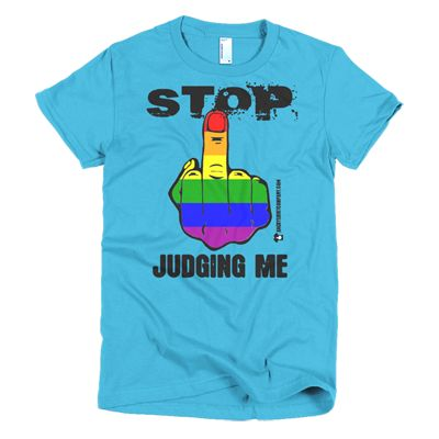 Stop Judging Me - Various women's and men's sizes - in blue, green, yellow, white, black and many more ... #angry #shirt #company #political #tshirt #tshirts #stopjudgingme #gay #lgbtq #pride #gaypride #gaylove #gaycute #activist #educateyourself #injustice #equality #standup #standuptogether #stopfeedingthe1% #unite #unity #uniteagainstinequality #discrimination #shirtcompany #angryshirtcompany