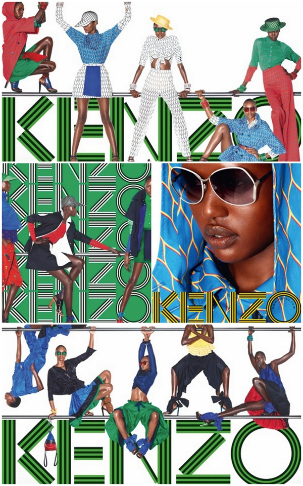 style brick road: Kenzo 2012 ads.