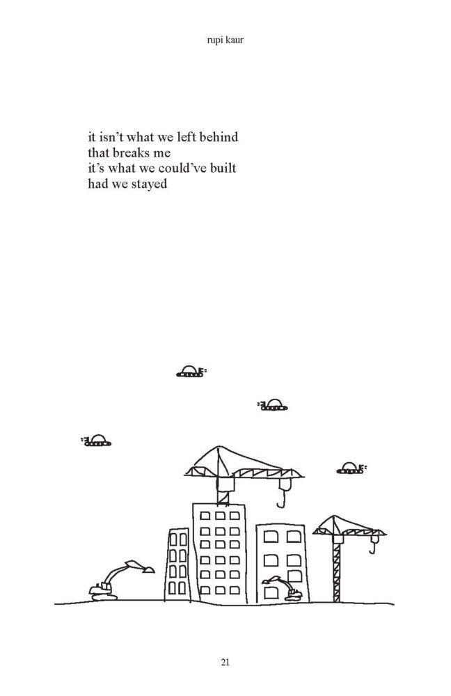 poet Rupi Kaur | Quotes | Poetry, Rupi Kaur, Poems