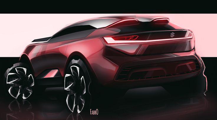 #suzuki #sketch #cardesign #transportation #design #automotive #suv #jimny #onesketchaday