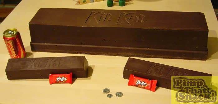 Pimp That Snack - Colossal KitKat A WHOLE WEBSITE FOR MAKING GIANT CANDY