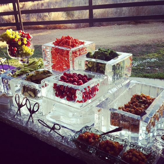 Brr It's As Cold As Ice! Perfect For Ice Sculpture Ideas