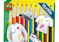 Set markere textile 10 culori | Bebeart