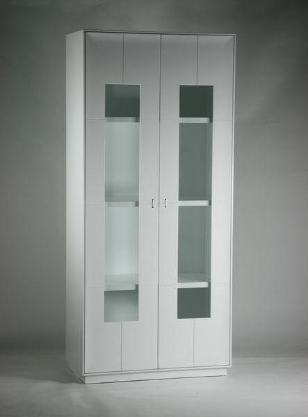 送料無料■新品■大型 キャビネット コレクションボード 飾り棚_画像1