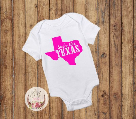 Best 25 texas baby showers ideas on pinterest texas theme shop sophiebreannadesignssycom shes like texas onesie baby girl clothes texas negle Image collections