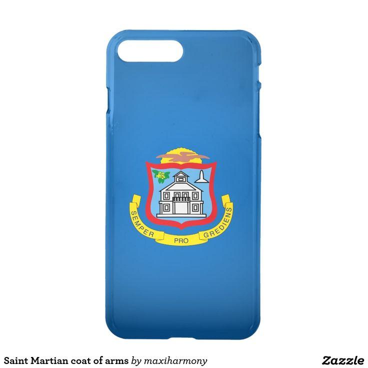 Saint Martian coat of arms iPhone 7 Plus Case