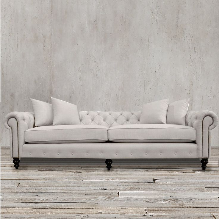 Handmade Using Old World Craftsmanship, This Premium Sofa Features A  Gorgeous European Linen Upholstery, Great Ideas