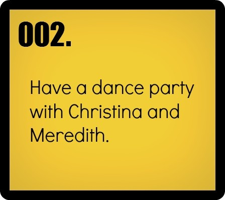 Grey's Anatomy- 30 second dance party