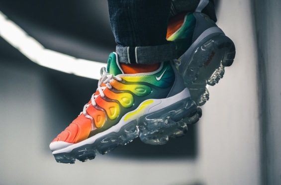 quality design a470d e37db Release Reminder Nike Air VaporMax Plus Rainbow If youre in the mood for