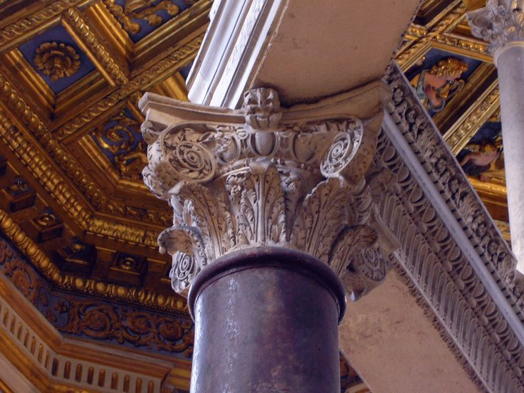 The Composit Order in the Lateran Baptistery, aprox 440 AD, Rome