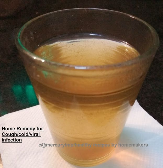 Mercury Information Management Platform: Home Remedy for Cough, Cold: How To Cure Viral Infections