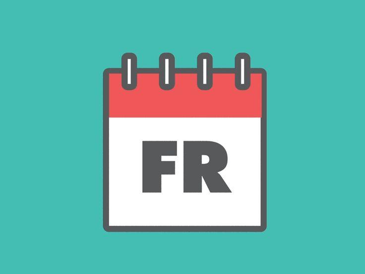 Friday calendar 3