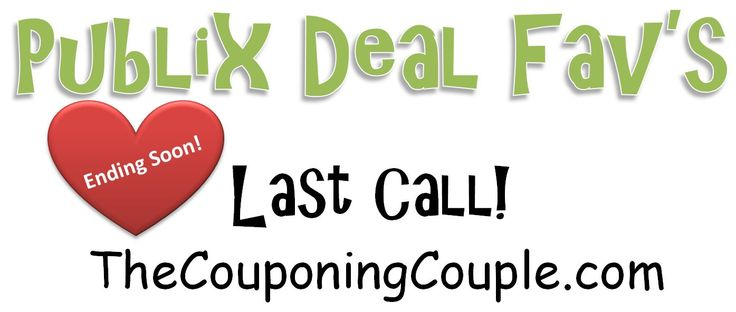***LAST CHANCE DEALS ~ GET THESE BEFORE IT IS TOO LATE*** Here are some of favorite deals that are ending today or tomorrow! Make sure you grab the ones you need! Click the link below to get all of the details ► http://www.thecouponingcouple.com/hurry-last-call-on-some-great-publix-deals-some-of-our-favs/  #Coupons #Couponing #CouponCommunity Visit us at http://www.thecouponingcouple.com for more great posts!