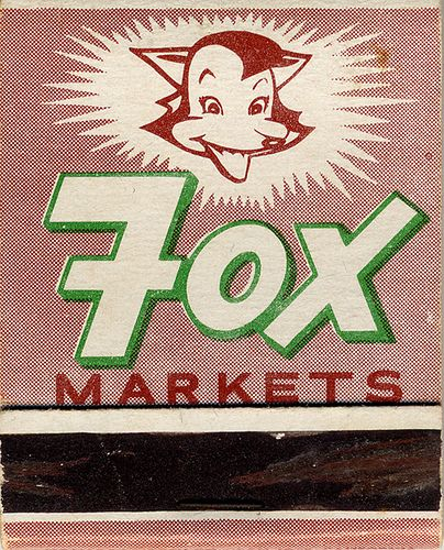 Fox Markets, 1960's: Design Collection, 1960S, Vintage Matchbox, Graphi Magazines, Graphics Design, Foxes Super, Foxes Marketing, Magazines Covers, Matchbox Graphics