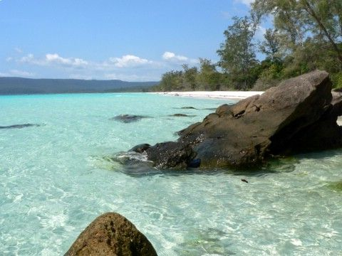 Sihanoukville, Cambodia.  A friend once told me it was heaven on earth. The perfect place to get away from it all.