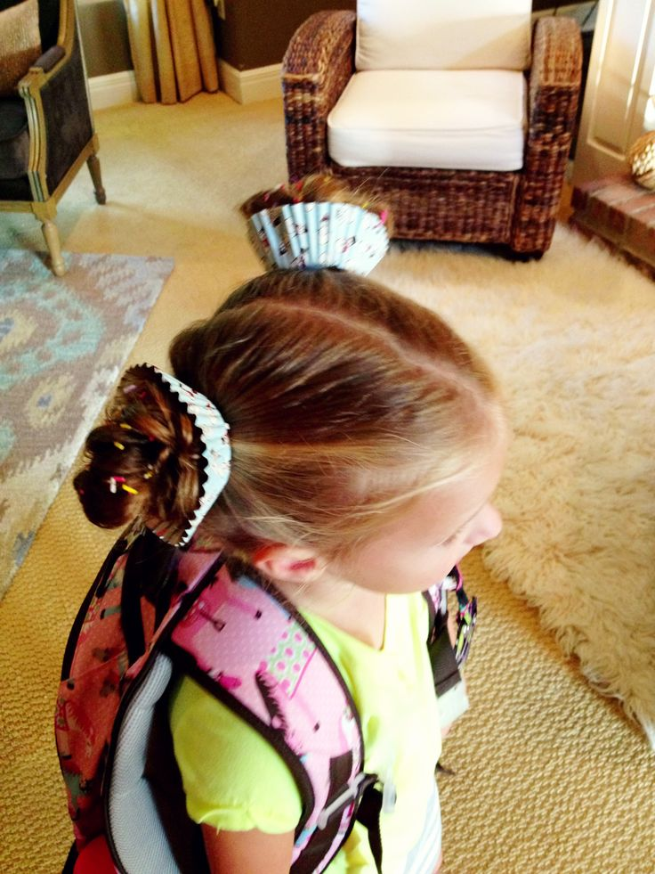 Crazy Hair Day! Cupcake hair complete with sprinkles!! Put ...