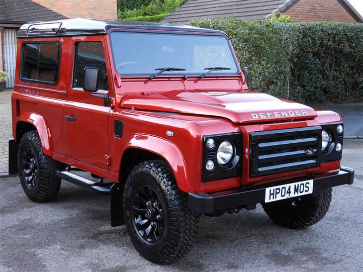 Used 2014 Land Rover Defender TD XS STATION WAGON for sale in Cheshire from j a 4x4 of cheshire.