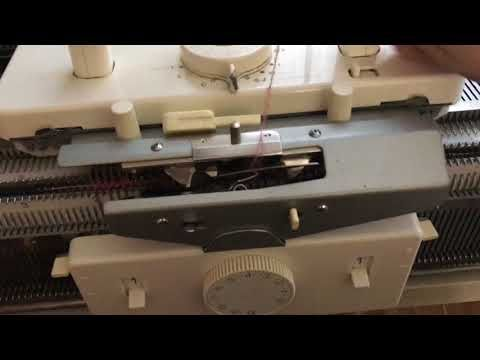 Как вязать плиссе,на вязальной машине! - YouTube