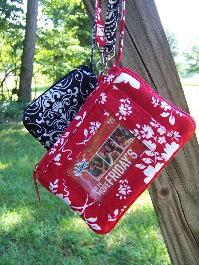 Wristlet all in one pdf pattern Ipod Cell Phone Check Book with e-file Download by AdoriesDesigns, $9.68 USD