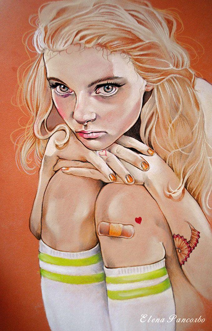 As sensacionais ilustrações de Elena PancorboZupi