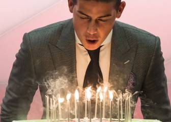 Bayern Munich celebra el cumpleaños de James