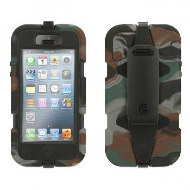 Griffin Survivor for iPhone 5S Camo black | the Griffin Extreme Duty Case is the most protective case we've ever built... #Griffin #Survivor #iPhone5s #Protective