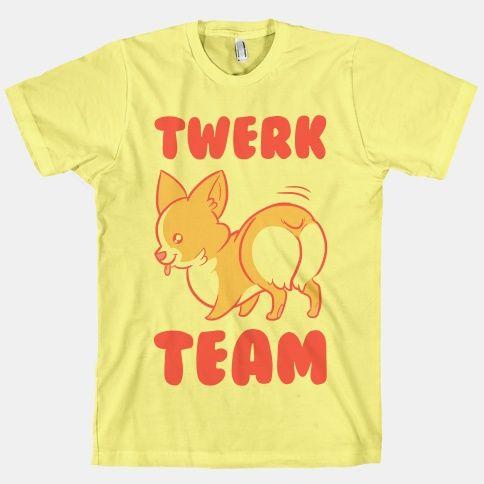 I NEED this!! Corgi twerk team!