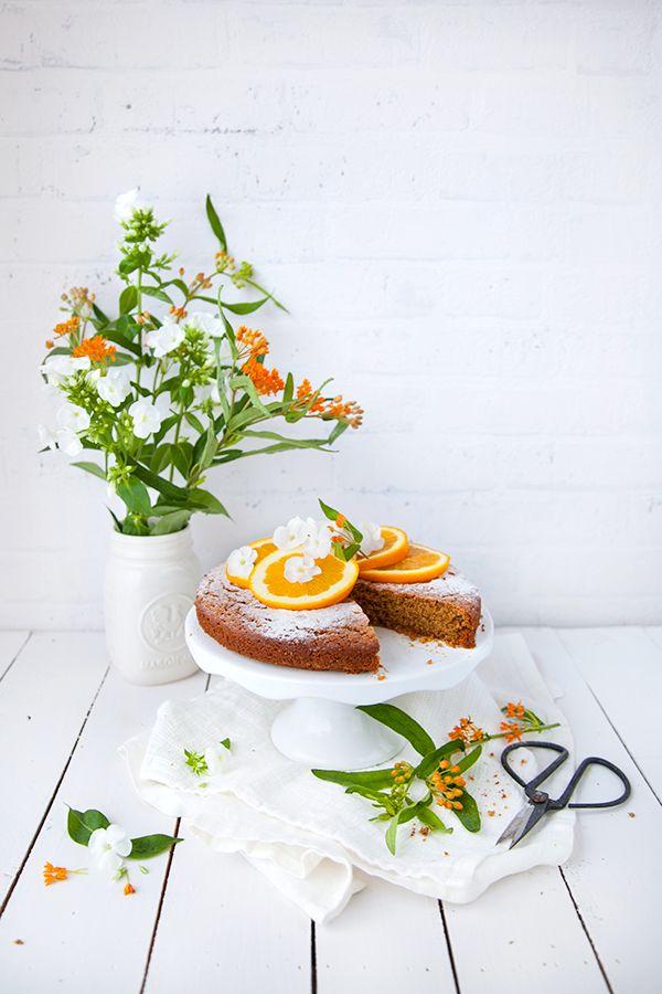 Gâteau épeautre & avoine à l'orange - 100 % Végétal | Cuisine vegan