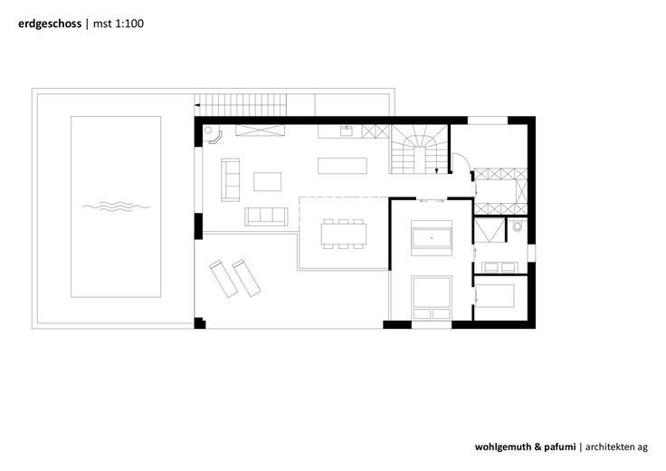 Дом площадью 150 квадратных метров, спроектированный студией Wohlgemuth & Pafumi Architekten в небольшом городке Зелисберг, Швейцария — идеальное воплощение семейного образа жизни, соединённого с современными представлениями о комфорте. Используя простые линии и формы, архитекторы следовали строг...