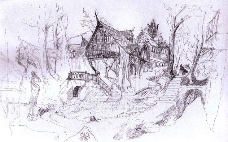 Rivendell - Alan Lee