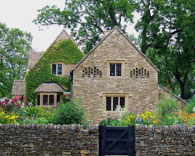 english stone cottage - photo #4