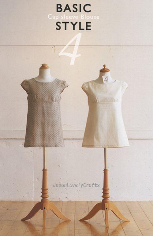 Sewing Recipe by Yoshiko Tsukiori  Japanese by JapanLovelyCrafts,