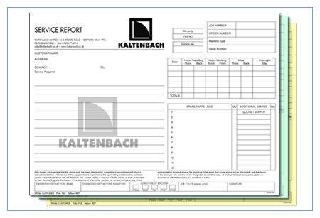 Printable Sample Business Forms Form