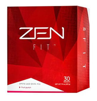ZEN Fit™ is a rich source of amino acids, which aid with muscle recovery as well as with the digestion of proteins. They are also important for burning fat and helping to lift your mood. A specially formed compound found in ZEN Fit™ works with ZEN Pro™ and ZEN Shape™ to heighten the brain's sensitivity to leptin, so you know when you're satisfied sooner—which means you eat just as much as your body needs—no more, no less.