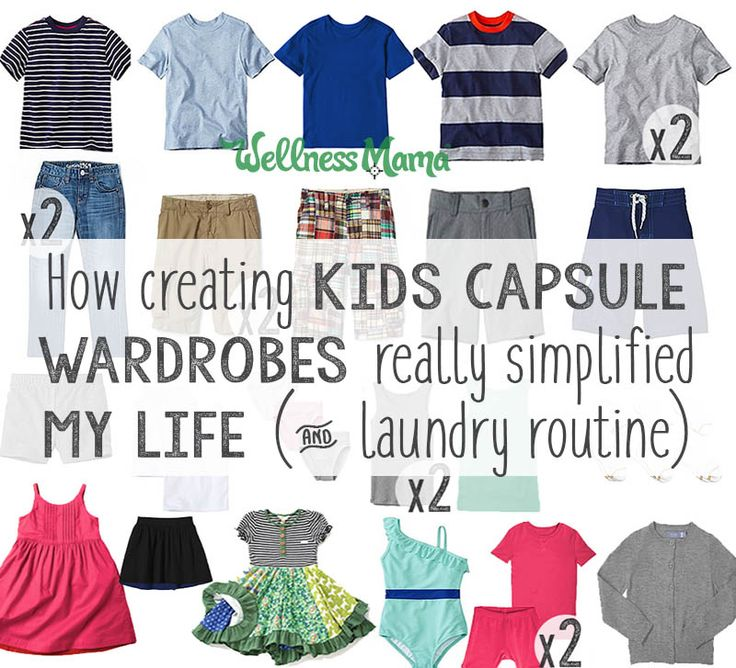 How My Kids' Capsule Wardrobe Simplified My Life (