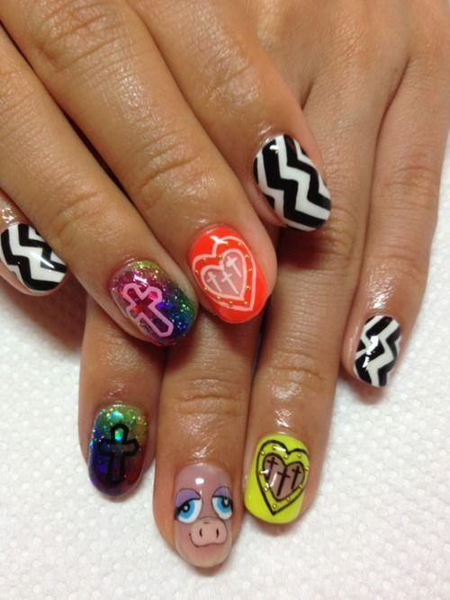 disco-nail:    DISCO new nail♡  http://www.disco-tokyo.com/