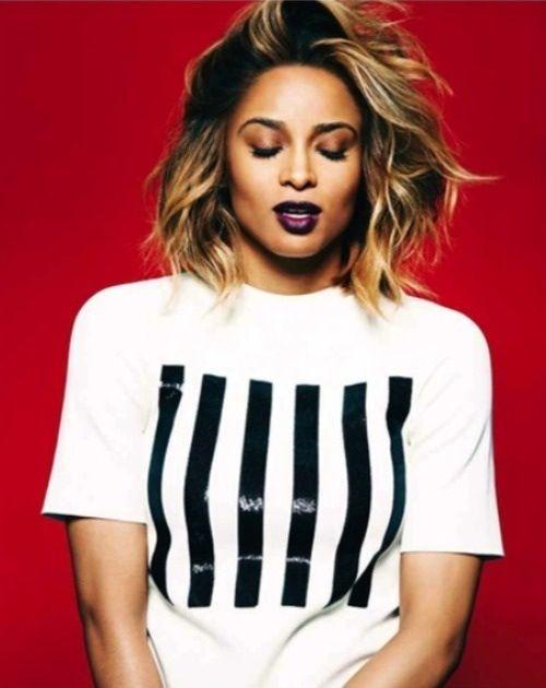 Ciara. I want that hair style soon!!