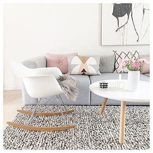 #Livingroom - #Woonkamer - #Scandinavionhome - www.vanmariel.nl