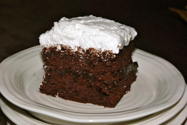 Chocolate Cake Mix Cake | Mennonite Girls Can Cook | Bloglovin