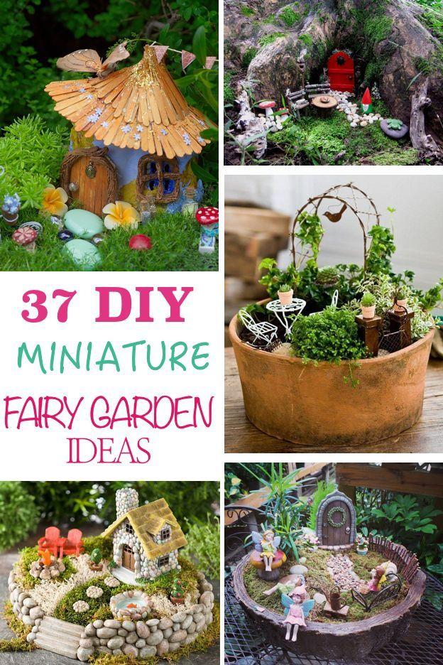 37 DIY Miniature Fairy Garden Ideas to Bring Magic Into Your