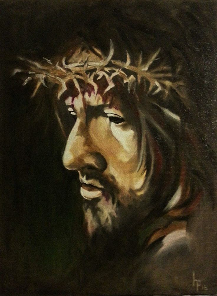 Jesus 3. Oil on canvas.40 x 30 cm.