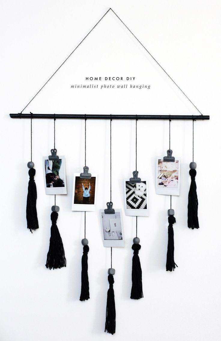 DIY Minimalist Wall Hanging