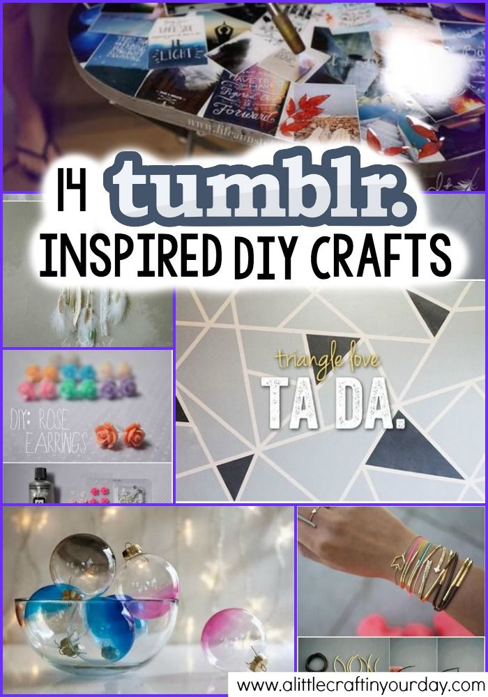 14 Tumblr Inspired DIY Crafts - A Little Craft In Your DayA Little Craft In Your Day