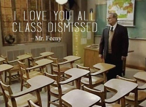 None of them saw Mr. Feeny's last lesson on Boy Meets World when the finale aired in 2000. | 23 TV Moments That Are Older Than The Class Of 2019