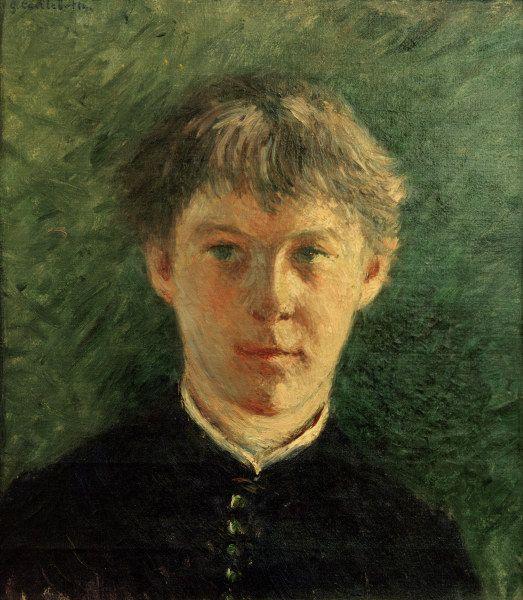 Gustave Caillebotte-Portrait d''un collégien