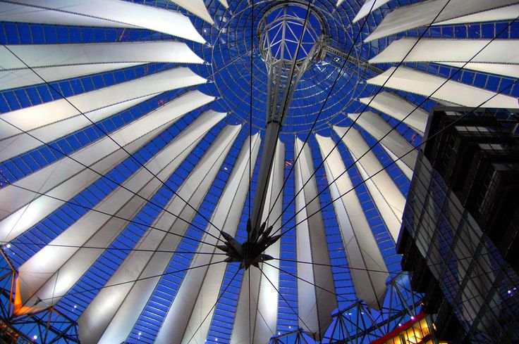 Hans Vaupel Berlin. The Sony Center is a Sony-sponsored building complex located at the Potsdamer Platz . II opened in 2000 | Flickr - Photo Sharing!