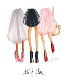 H. Nichols Illustration -TRÈS CHIC – Bliss Tulle